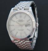 Rolex  Rolex Datejust 41 Silver Dial 126334