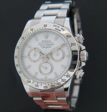 Rolex  Daytona White Dial 116520  G-Serial