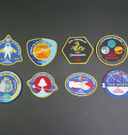 Omega Speedmaster 50th Anniversary Patches
