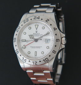 Rolex  Explorer II White Dial 16570   ''Swiss Only''