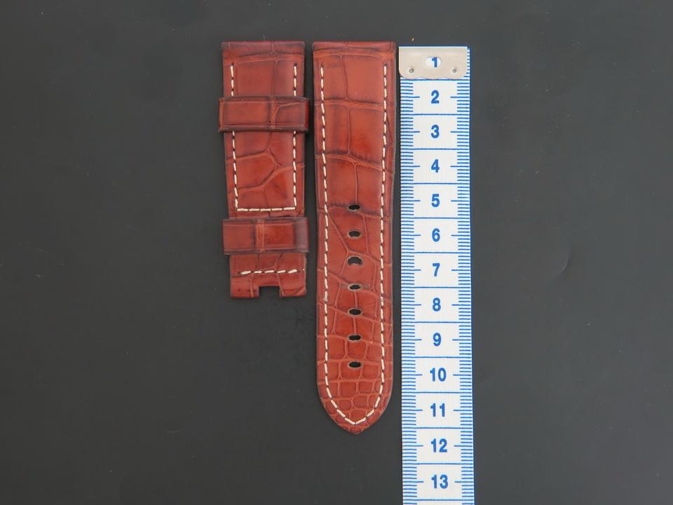 Panerai Panerai Crocodile Leather Strap 24 MM