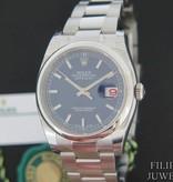 Rolex  Rolex Datejust Blue Dial 116200 NEW