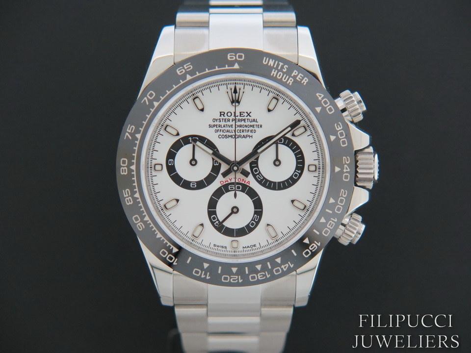 Rolex  Rolex Daytona 116500LN  White Dial