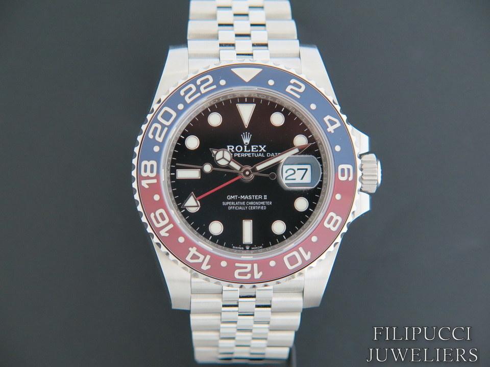 "Rolex  Rolex GMT-Master II NEW 126710 BLRO ""Pepsi"""