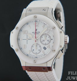 Hublot Big Bang Chronograph St. Moritz White