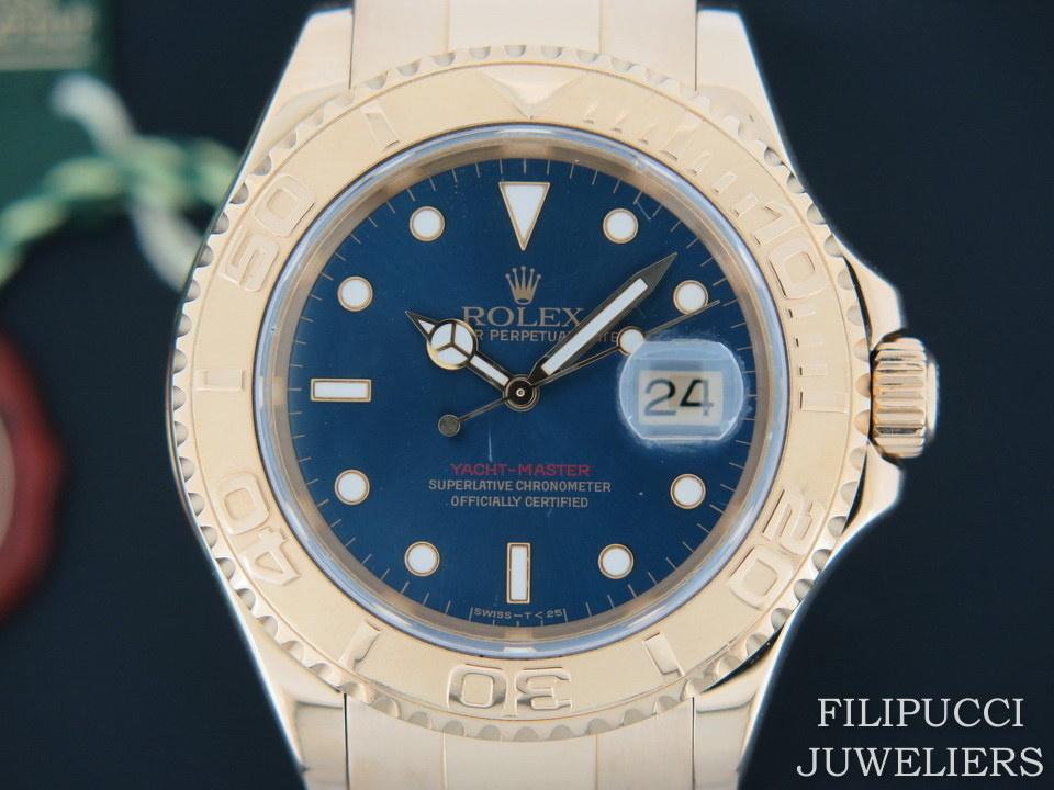 Rolex  Rolex  Yacht-Master Yellow Gold 16628