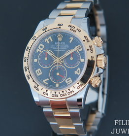 Rolex  Daytona Gold/Steel  NEW 116503   Blue Dial Partial Stickers