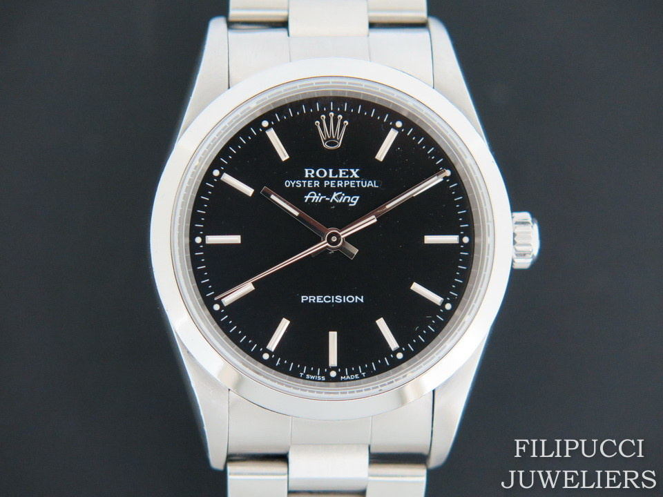Rolex  Rolex Air-King Black Dial 14000