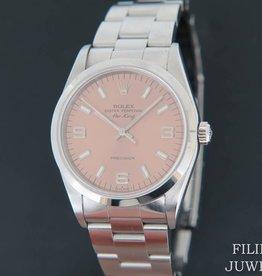 Rolex  Air-King Pink Dial 14000