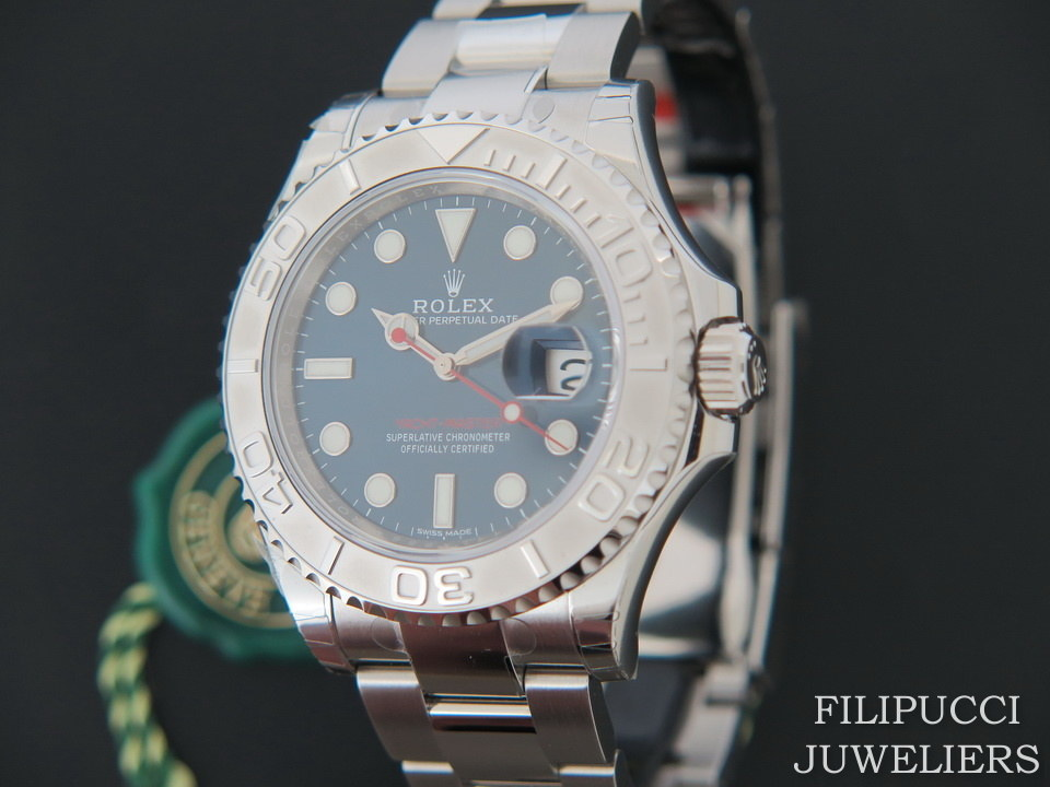 Rolex Yacht Master Blue New 116622 Copy