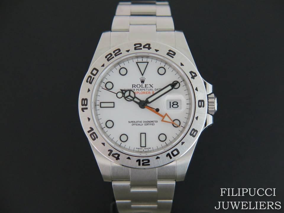 Rolex  Rolex Explorer II White Dial 216570