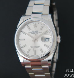 Rolex  Datejust 126200 Silver Dial NEW MODEL