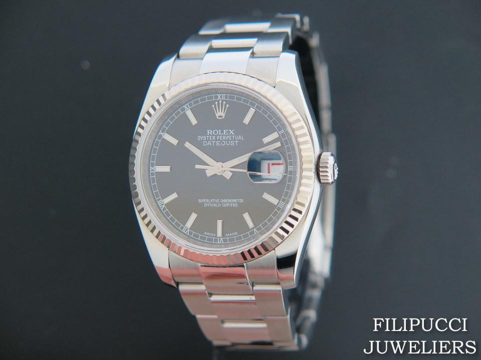 Rolex  Rolex Datejust  Black Dial 116234