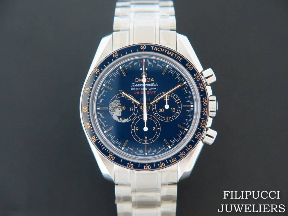 "Omega Omega  Speedmaster Moonwatch ""Apollo XVII"" NEW"