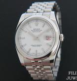 Rolex  Rolex Datejust 116200 White Dial