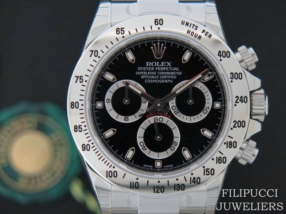 Rolex  Rolex Daytona Black Dial NOS 116520