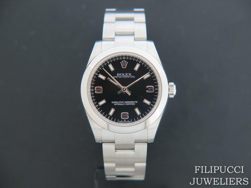 Rolex  Rolex Oyster Perpetual 177200 Black Dial