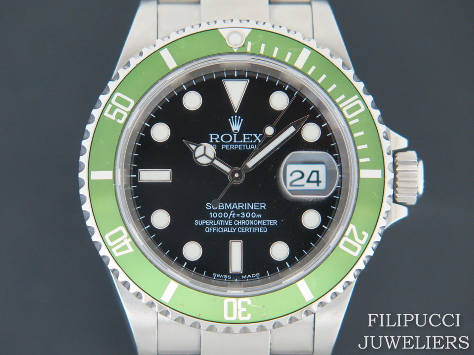 Rolex  Rolex Submariner Date LV ''FLAT FOUR'' 16610LV