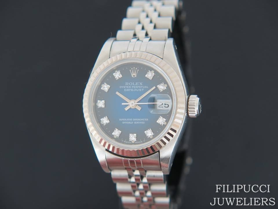 Rolex Oyster Perpetual Datejust Lady Copy Filipucci