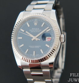 Rolex  Datejust Blue Dial NEW 116234