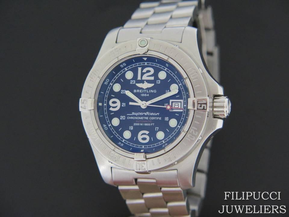 super popular 1c235 b6e0c Breitling Superocean Steelfish A17390