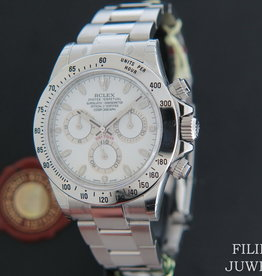Rolex  Daytona White APH Dial NOS 116520 IN STICKERS
