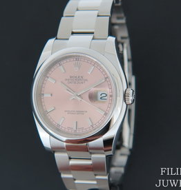 Rolex  Datejust NEW 116200 Pink Dial