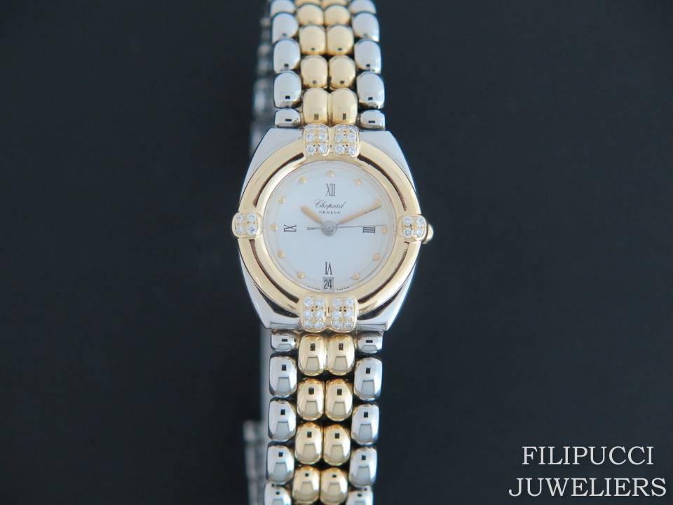 Chopard Chopard Gstaad Gold/Steel Diamonds 32/8117