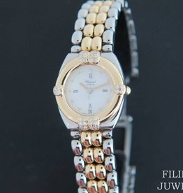 Chopard Gstaad Gold/Steel Diamonds