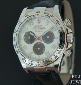 Rolex  Daytona White gold Panda Racing Dial 116519