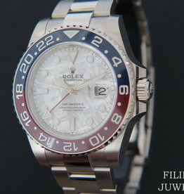 Rolex  GMT Master II BLRO White Gold Meteorite Dial 126719BLRO NEW