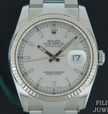 Rolex  Rolex Datejust Silver  Dial 116234