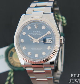 Rolex  Datejust 126234 Blue Diamond Dial NEW MODEL
