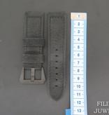 Panerai Panerai Calfskin Leather Strap 24 MM with ceramic buckle