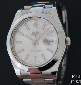 Rolex  Datejust II 116300 Silver Dial