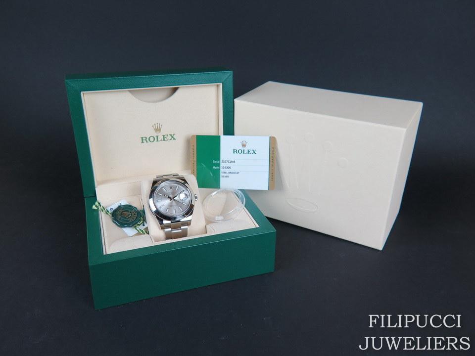 Rolex  Rolex Datejust II  116300 Silver Dial