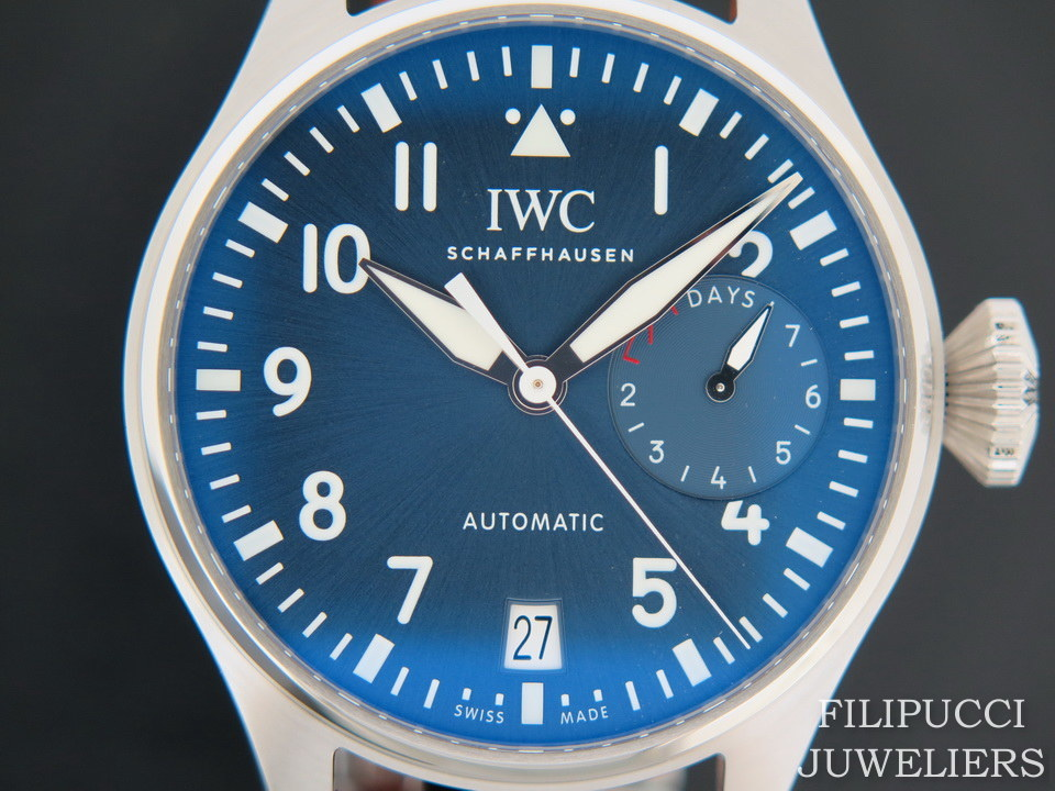 "IWC IWC Big Pilot IW501002 ""Petit Prince"" NEW"