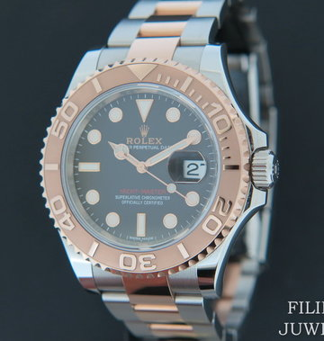 Rolex  Yacht-Master Everosegold/Steel Chocolate Dial 116621
