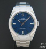 Rolex  Rolex Oyster Perpetual 114300 Blue NEW