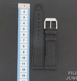 IWC Crocodile Leather Strap With Buckle 21 mm NEW - Copy