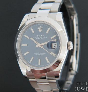 Rolex  Datejust 41 Blue Dial  126300 NEW