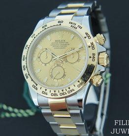 Rolex  Daytona Gold/Steel  116503  Champagne Dial