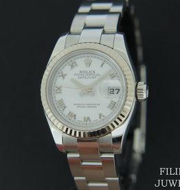 Rolex  Datejust Ladies White Dial 179174