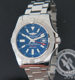 Breitling Avenger II GMT Blue Dial NEW A32390
