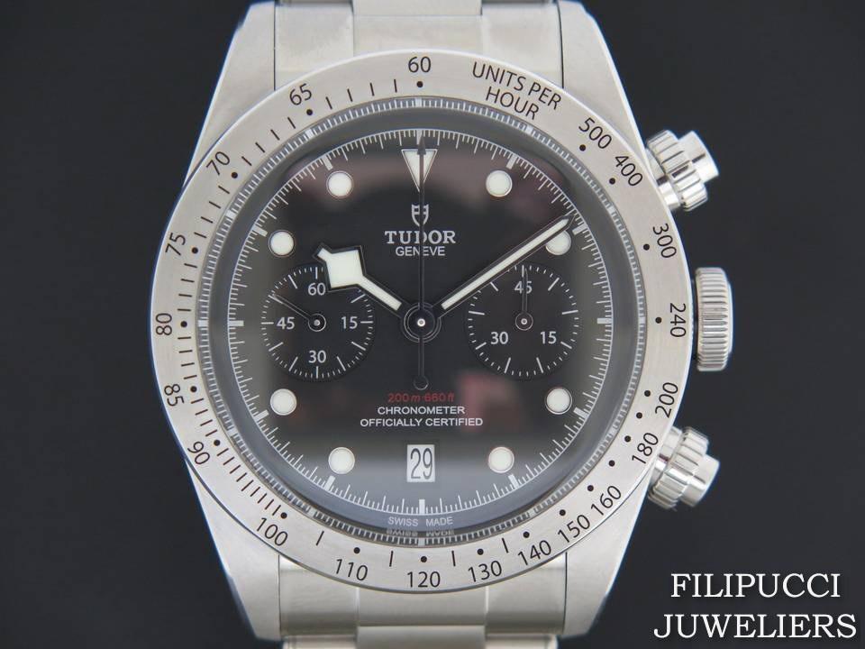 Tudor Tudor Heritage Black Bay Chrono NEW 79350