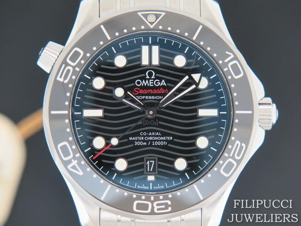 Omega Omega Seamaster Diver 300M Co‑Axial Master Chronometer NEW