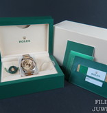 Rolex  Rolex Sky-Dweller Gold/Steel Champagne NEW 326933  - Copy