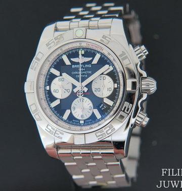 Breitling Chronomat 44 Black Dial NEW AB011012