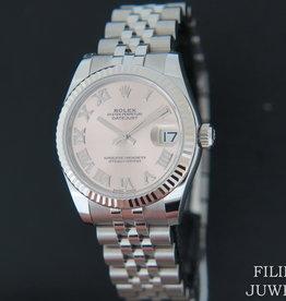 Rolex  Datejust 178274  Rhodium Dial NEW