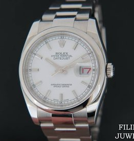 Rolex  Datejust White Dial NEW 116200